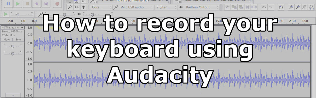 how to set up audacity to record from computer